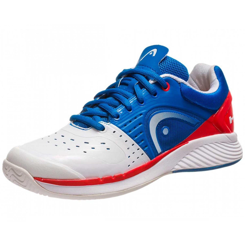 HEAD Speed Iii - Zapatillas de tenis de sintético para hombre, color blanco, talla 1 UK